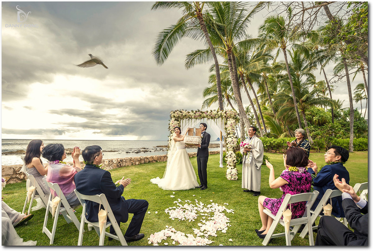 Hawaii Destination Wedding Zi Ze Lanikuhonua Oahu Hi Danny Dong Blog
