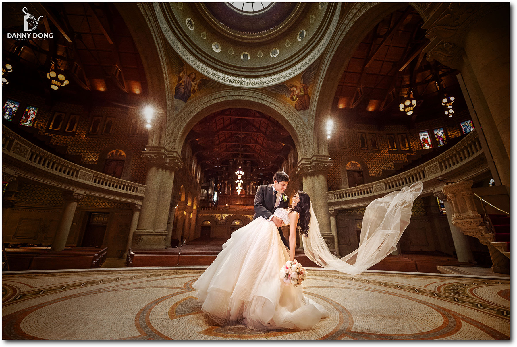 Stanford Memorial Church And Thomas Fogarty Winery Wedding