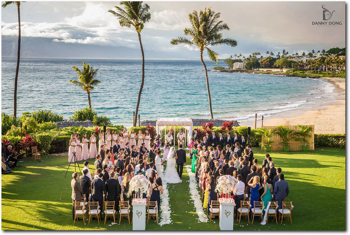 Four Seasons Resort Maui Destination Wedding