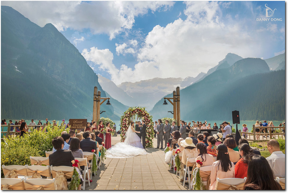 Fairmont Cau Lake Louise Wedding Sherry Frank Banff Canada